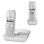 Téléphone sans fil DECT avec répondeur et combiné supplémentaire (version française)