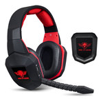 Casque-micro sans fil pour gamer (compatible PC, Mac, PS3, PS4, Xbox 360, Xbox One)