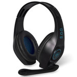 Casque-micro pour gamer (compatible PC, Mac, PS3, PS4, Xbox 360)