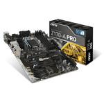 Carte mère ATX Socket 1151 Intel Z170 Express - SATA 6Gb/s + SATA Express + M.2 - USB 3.1 - 2x PCI-Express 3.0 16x