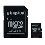 MicroSDXC 64 Go High Capacity Class 10 UHS-1 + adaptateur SD (garantie à vie par Kingston)