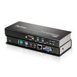 Système d'extension KVM VGA USB avec audio, RS-232 et compensation de signal (300 m)