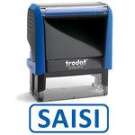 """Timbre formule commerciale """"Saisi"""" Xprint à encrage automatique"""