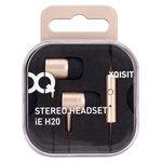 Écouteurs stéréo intra-auriculaires avec télécommande et micro