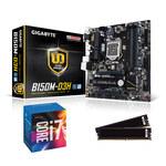 Carte mère Micro ATX Socket 1151 Intel B150 Express + CPU Intel Core i7-6700 (3.4 GHz) + RAM 8 Go DDR4 2133 MHz