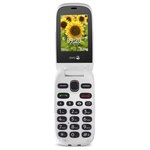 "Téléphone 2G Compatible Appareils Auditifs (HAC) - Ecran 2.4"" 240 x 320 - Bluetooth 3.0 - 800 mAh"