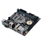 Carte mère Mini ITX Socket 1151 Intel H170 Express - SATA 6Gb/s - M.2 - USB 3.0 - DDR3 - 1x PCI-Express 3.0 16x - Wi-Fi AC