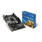 Carte mère Micro ATX Socket 1151 Intel H110 Express - SATA 6Gb/s - USB 3.1 - 1x PCI-Express 3.0 16x