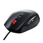 Souris filaire pour gamer - Droitier - Capteur optique 3500 dpi - 7 boutons - Rétro-éclairage