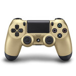 Manette sans fil pour Playstation 4 (coloris Or)