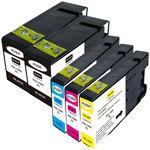 Pack de 5 cartouches d'encre compatibles Canon PGI-1500XL ( 2 x noir, 1 x cyan, 1 x magenta, 1 x jaune)