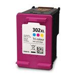 Cartouche d'encre couleur (Cyan, magenta, jaune) compatible HP 302XL (330 pages)