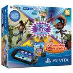 Console de jeux-vidéo portable + 4 jeux + Carte mémoire 8 Go