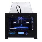 Imprimante 3D couleur à 2 têtes d'impression PLA/ABS/Nylon - USB/Carte SD