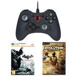 Manette filaire (PC) + Batman: Arkham City et Trials Evolution: Gold Edition (PC) offerts !