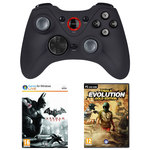 Manette sans fil (PC) + Batman: Arkham City et Trials Evolution: Gold Edition (PC) offerts !