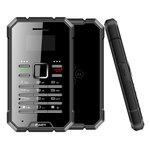 "Téléphone 2G IP67 - Ecran 0.96"" 64 x 128 - 64 Mo - Bluetooth 3.0 - 700 mAh"