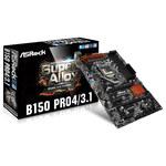 Carte mère ATX Socket 1151 Intel B150 Express - SATA 6Gb/s - USB 3.1 - DDR4 - 2x PCI-Express 3.0 16x