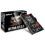 Carte mère ATX Socket 1151 Intel H170 Express - SATA 6Gb/s - USB 3.1 - 2x PCI-Express 3.0 16x