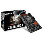 Carte mère ATX Socket 1151 Intel Z170 Express - SATA 6Gb/s - USB 3.1 - 2x PCI-Express 3.0 16x