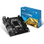 Carte mère Mini ITX Socket 1151 Intel H110 Express - SATA 6Gb/s - M.2 - DDR4 - USB 3.1 - 1x PCI-Express 3.0 16x