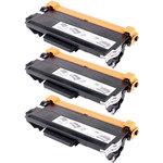 Pack de 3 toners noir compatibles Brother TN3380 (8 000 pages à 5%)