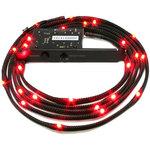 Bande de lumière LED flexible à puissance variable pour tuning PC (rouge)