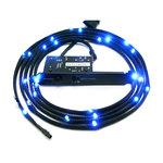 Bande de lumière LED flexible à puissance variable pour tuning PC (bleu)