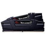 Kit Dual Channel 2 barrettes de RAM DDR4 PC4-25600 - F4-3200C15D-32GVK (garantie 10 ans par G.Skill)