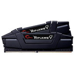 Kit Dual Channel 2 barrettes de RAM DDR4 PC4-28800 - F4-3600C17D-16GVK (garantie 10 ans par G.Skill)