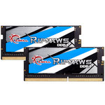 Kit Dual Channel 2 barrettes de RAM SO-DIMM PC4-21300 - F4-2666C18D-16GRS (garantie à vie par G.Skill)