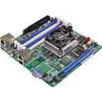 Carte mère Mini-ITX avec processeur Intel Xeon D-1520 - 4x DIMM DDR4 - SATA 6Gb/s - USB 3.0 - 1x PCI-Express 3.0 16x - 2x Gigabit LAN + 1 RJ45 Management