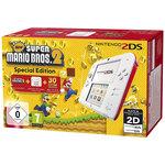 Console Nintendo 2DS + carte mémoire SDHC 4 Go + Adaptateur secteur + New Super Mario Bros. 2