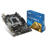 Carte mère Micro ATX Socket 1151 Intel H110 Express - SATA 6Gb/s - DDR4 - 1x PCI-Express 3.0 16x