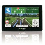 """GPS spécial camping-car 44 pays d'Europe Ecran 5"""" avec mise à jour à vie"""