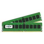 Kit Dual Channel RAM DDR4 PC4-19200 - CT2K8G4RFD824A (garantie 10 ans par Crucial)