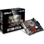 Carte mère Mini-ITX Socket 1151 Intel H110 Express - SATA 6Gb/s - USB 3.0 - 1x PCI-Express 3.0 16x  - Wi-Fi / Bluetooth 4.0