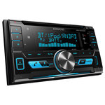 Autoradio CD / MP3 avec écran LCD port USB pour iPod / iPhone / smartphone, Bluetooth, NFC et entrée AUX