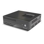 Boîtier mini ITX Noir compatible VESA (alimentation 80W)