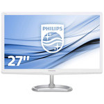 1920 x 1080 pixels - 5 ms (gris à gris) - Format large 16/9 - Dalle IPS-ADS - HDMI - MHL - Blanc/Argent