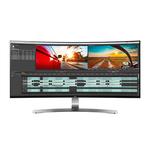 3440 X 1440 pixels - 5 ms - Format 21/9 - Dalle IPS incurvée - HDMI/Thunderbolt/Hub USB 3.0 - Noir/Blanc