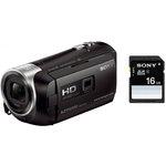 Caméscope Full HD avec mémoire flash, micro HDMI, Wi-Fi, NFC et projecteur intégré