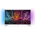 """Téléviseur LED 4K 55"""" (140 cm) 16/9 - 3840 x 2160 pixels - TNT, Câble et Satellite HD - Ultra HD 2160p - HDR - Wi-Fi - Android - 1800 Hz"""