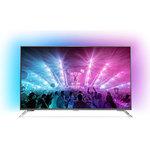 """Téléviseur LED 4K 49"""" (124 cm) 16/9 - 3840 x 2160 pixels - TNT, Câble et Satellite HD - Ultra HD 2160p - HDR - Wi-Fi - Android - 2000 Hz"""
