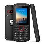 "Téléphone 3G+ Dual SIM IP68 - RAM 64 Mo - Ecran 2.4"" 240 x 320 - 128 Mo - Bluetooth 3.0 - 1300 mAh"