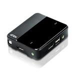 Commutateur KVM 2 ports USB DisplayPort avec prise en charge UHD 4K