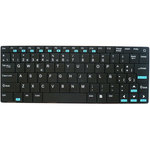 Clavier compact sans fil pour Windows - Mac OS X - Linux - Android - iOS (clavier seulement) - Symbian - PlayStation 3 et 4 - Smart TV avec Bluetooth HID - Kodi - XBMC - Freebox...