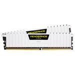 Kit Dual Channel 2 barrettes de RAM DDR4 PC4-21300 - CMK16GX4M2A2666C16W (garantie à vie par Corsair)