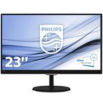 1920 x 1080 pixels - 5 ms (gris à gris) - Format large 16/9 - Dalle AH-IPS - HDMI - MHL - Noir