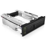 """Rack amovible sans tiroir pour disque dur 3.5"""" SATA/SAS (noir)"""